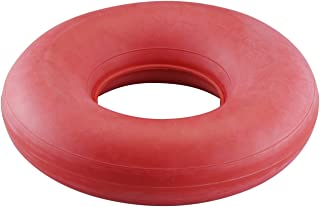 NOVA Inflatable Donut Cushion, Easy to Inflate and Deflate Seat Cushion, Durable Rubber and Easy to Clean