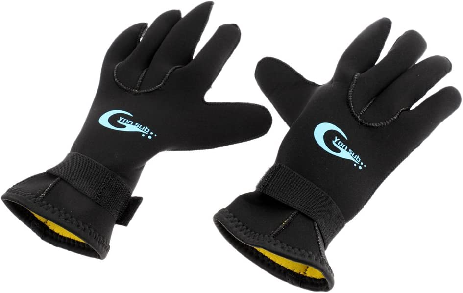 4 years warranty TOOYFUL Miami Mall 3mm Stretchable Wetsuit Spearfishing Gloves