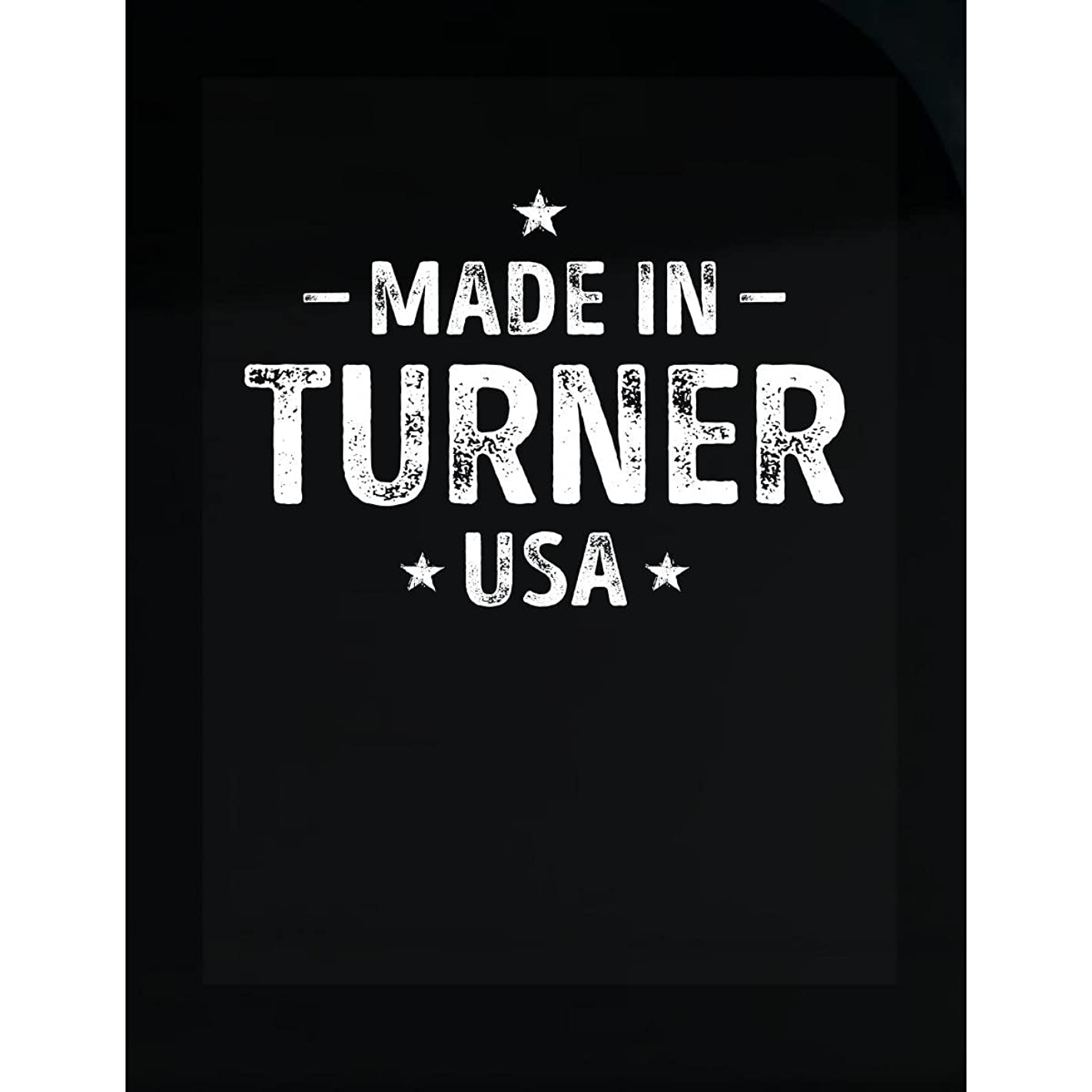 Inked Creatively Made in Turner County USA Sticker
