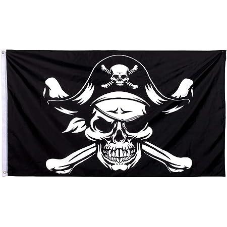 "/""CRIMSON PIRATE/"" 3x5 ft flag polyester premium waterproof"