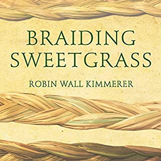 Braiding Sweetgrass audiobook cover art