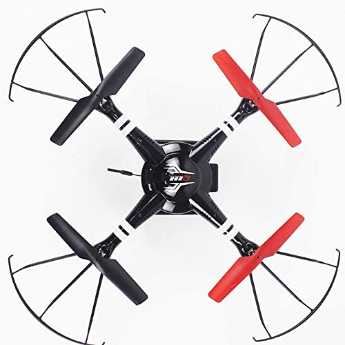 AGoldt Feste H  Weißinkelflugzeuge 3D-Rolle Ferngesteuertes Flugzeug Einsteigermodell Intelligentes LED-Licht Drohne Mit Erwachsenenkamera HD-Luftbildfotografie 720 P Vier Achsen Kind Intelligentes