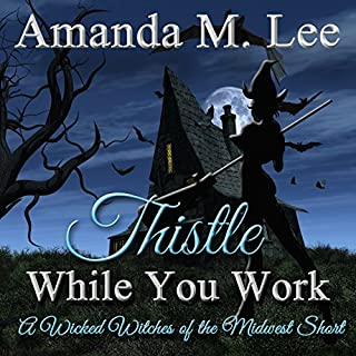 Thistle While You Work audiobook cover art