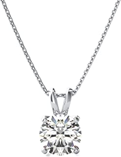 Womens Jewelry Set Heart Shape Highest Quality 6MM 6MM Lab Created Black CZ Diamond Solitaire Pendant 18 Chain Necklace for Ledis 14K Yellow Gold Plated Alloy