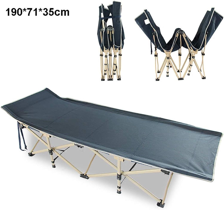 Iron Folding Beach,Pool,Camping Single Bed(190  71  35cm)