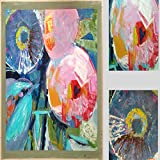 N / A Modern Canvas Wall Art Abstract Oil Painting Canvas Decorative Painting For Living Room Decoration Frameless 30x30cm