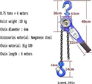 3 m/ètres ELLER Palan /à cha/îne manuel PHE1 2t 2.000kg