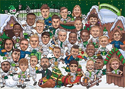 Vfl Borussia Mönchengladbach Adventskalender *** Comic ***