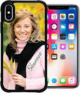 PixCase XS/X (5.8 inch) - Picture Frame Case - Compatible with Apple iPhone Xs and X - DIY - Insert Your Own Photos or Create Custom Designs Online - Change Anytime - Shock Absorbing