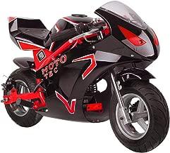 Gas Pocket Bike Mini Motorcycle for Adults Kids, 49cc 2 Stroke Gas Powered
