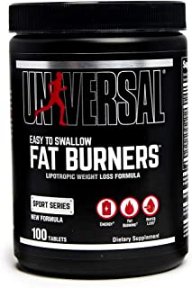 Universal Nutrition System Fat Burners, Easy-to- Swallow, 100 Count Bottle