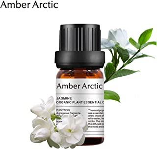 Jasmine Essential Oil - 100% Pure Aromatherapy Jasmine Oils for Diffuser, Massage, Skin Care, Perfume (10ML)