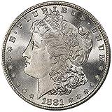 1881 S Morgan Silver Dollar (BU) $1 Brilliant...