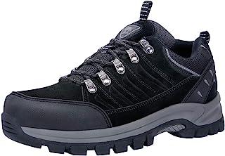 CAMEL CROWN المشي لمسافات طويلة النساء ماء عدم الانزلاق أحذية رياضية منخفضة الأعلى للرحلات في الهواء الطلق المشي الأسود 9
