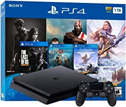 SonyHoliday Bundle - Playstation 4 1TB Slim- Jet Black