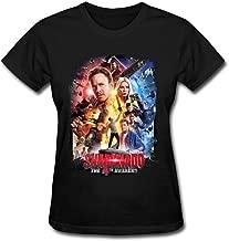 SUNRAIN Women's Sharknado The 4th Awakens Movie Poster T Shirt