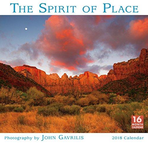 The Spirit Of Place - Photography By John Gavrilis 2018 Wall Calendar (CA0162)