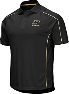 Stadium Athletics Purdue Boilermakers NCAA Bunker Men's Performance Polo Shirt