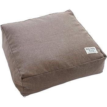 サンベルム ふとん収納 ブラウン 布団収納時/約幅60×奥行60×高さ20cm かけ布団がクッションになる布団収納袋 L08510
