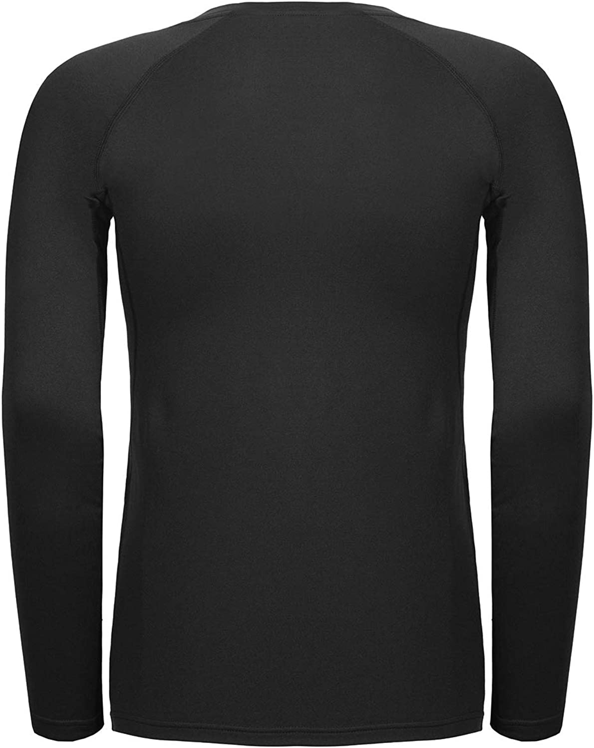 TAIBID Youth Boys' Compression Thermal Shirt Fleece Base Layer Long Sleeve Soccer Baseball Top, Size S - XL: Clothing, Shoes & Jewelry