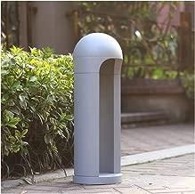 ZWYJXL Pillar Light Stigma Floor Lamp Modern Outdoor Waterproof Lawn Light Garden Villa Led Landscape Patio Acrylic Stigma Light Park Road Light, 3 Size (Color : A, Size : 40cm)