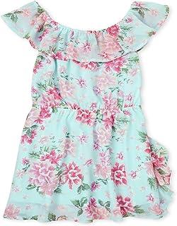 فستان برقبة مكشكشة للفتيات من ذا تشيلدرنز بليس