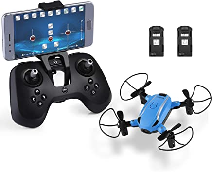 $29 Get HELIFAR X1 FPV Drone Mini RC Quadcopter with Camera 2.4GHz 6-Axis Gyro Remote Control Nano Drone for Kids Adults Beginners Headless Mode/3D Flip/One Key Take-Off Return/Altitude Hold/FPV Mode