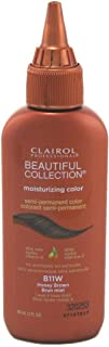 Clairol Beautiful Collection #B011W Honey Brown 3 Ounce (88ml) (6 Pack)