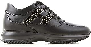 HOGAN Luxury Fashion Womens HXW00N0BY00I85B999 Black Sneakers | Fall Winter 19