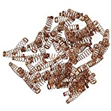 BQLZR Golden Copper Jack Wire Spring For Upright Piano Repair Part Replacement Pack of 90
