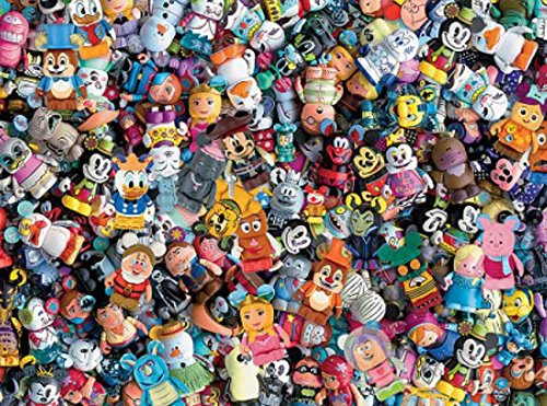Ceaco Disney Collections Vinylmation Jigsaw Puzzle, 750 Pieces