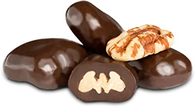 Albanese Dark Chocolate Pecans, 1LB