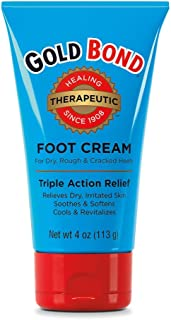 Gold Bond Foot Cream Triple Action Relief 4oz (SG_B001ET78HY_US) 12 Ounce (Pack of 3)