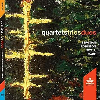 quartets/duos/trios