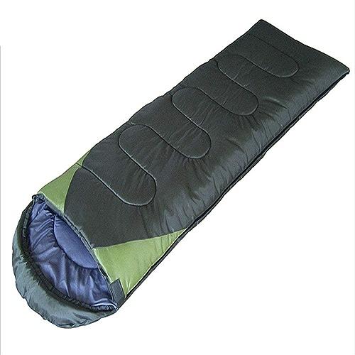 LIUSIYU Sac de Couchage, Sac de Couchage léger Enveloppe, 5 à 10 ° C Sacs de Couchage Chaud 4 Saisons pour Le Camping, la randonnée en Plein air