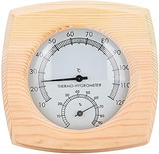 Durable matériel en bois de thermomètre de pièce de sauna numérique pour la pièce de courant de sueur