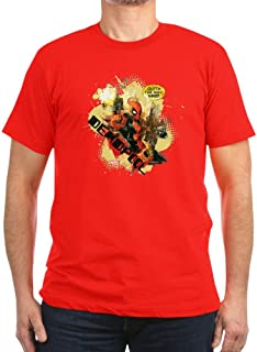 CafePress Deadpool Outta My Way Men's Fitted T