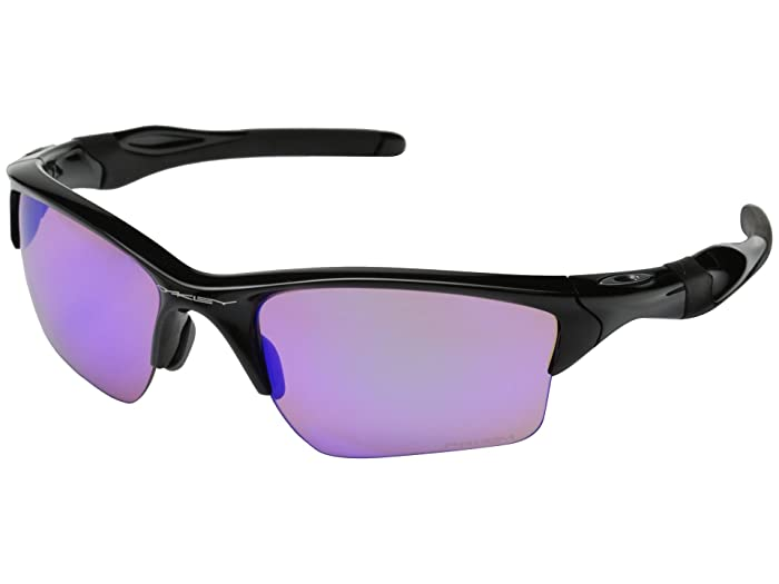 Oakley Half Jacket 2.0 (Polished Black/Prizm Golf) Sport Sunglasses