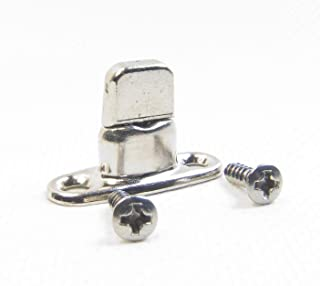 Common Sense Fastener, Double Height Turn Button 2 Hole Stud, 10 Piece Set w/ ½ Installation Screws - Shipped from The USA!