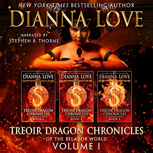 Treoir Dragon Chronicles of the Belador World: Volume I, Books 1-3 cover art