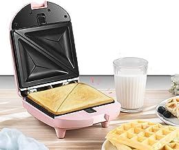 Fabricant de sandwich électrique portable et compact chauffant rapide avec des plaques recouvertes anti-bâton et des pieds...