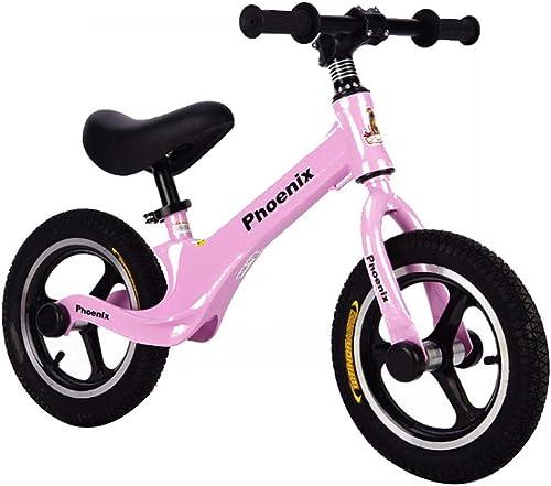 Draisienne, pour Les Tout-Petits de Formation   Bike sans pédale Vélo   de Marche, avec Guidon réglable et siège pour Enfants