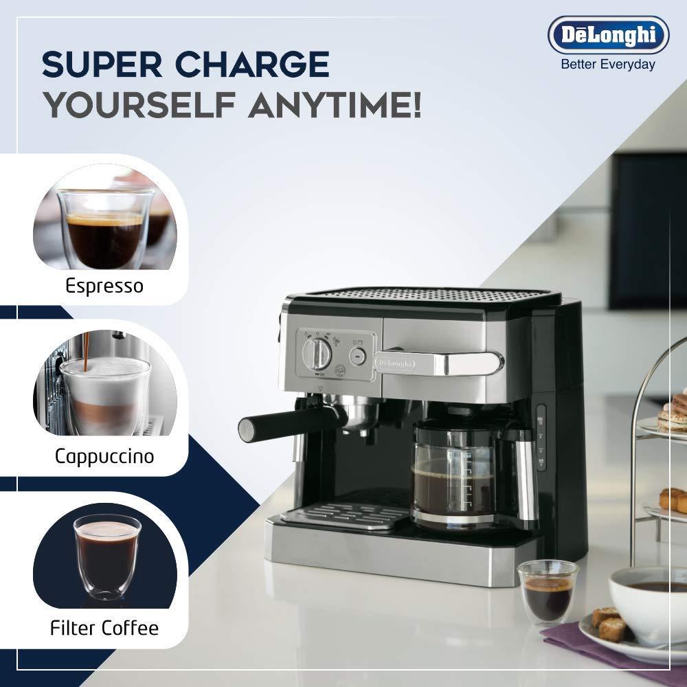 ماكينة قهوة واسبرسو من ديلونجي - BCO 420