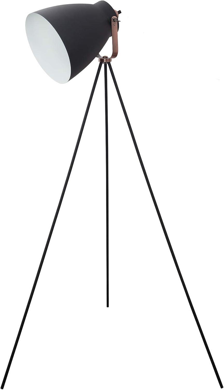 TODOLAMPARA - Stehlampe dreifach GETTING schwarz