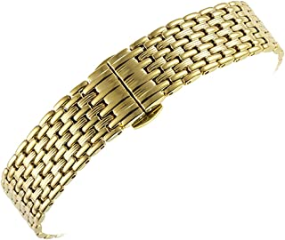 Stainless Steel Watch Band Replacement Metal Watch Strap 12mm 14mm 16mm 18mm 20mm 22mm Bands for Men Women