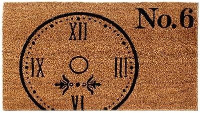 Shiraleah Clock Door Mat
