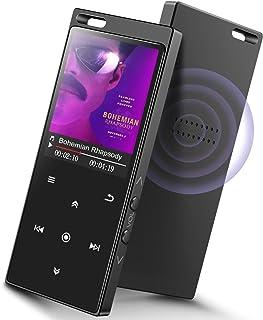 comprar comparacion 16GB SUPEREYE Reproductor MP3 Bluetooth 4.2 con Botón Táctil Reproductor de Música Digital con Auriculares con Cable, Alta...