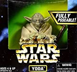Hasbro Figura de acción Jedi Master Yoda The Empire Strikes Back de 12 pulgadas, 16 cm, Star Wars Power of The Force Collection 1997