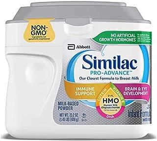 Similac Pro-Advance Non-GMO Infant Formula with Iron HMO Baby Formula, Powder, 23.2 oz Special Off Deals (Multi Selection)