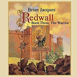 Redwall: Book Three: The Warrior cover art